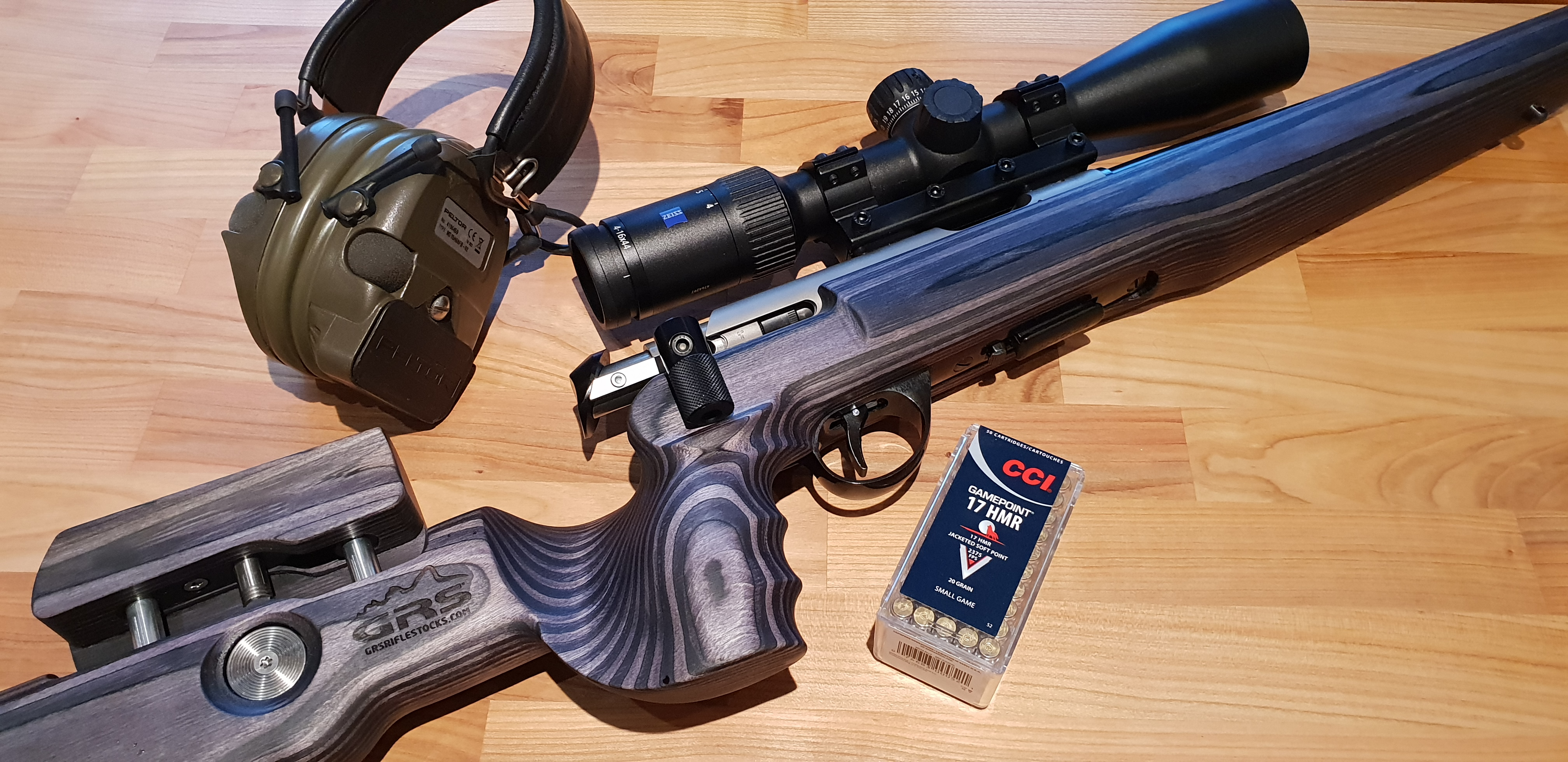 GRS Ancshutz rifle