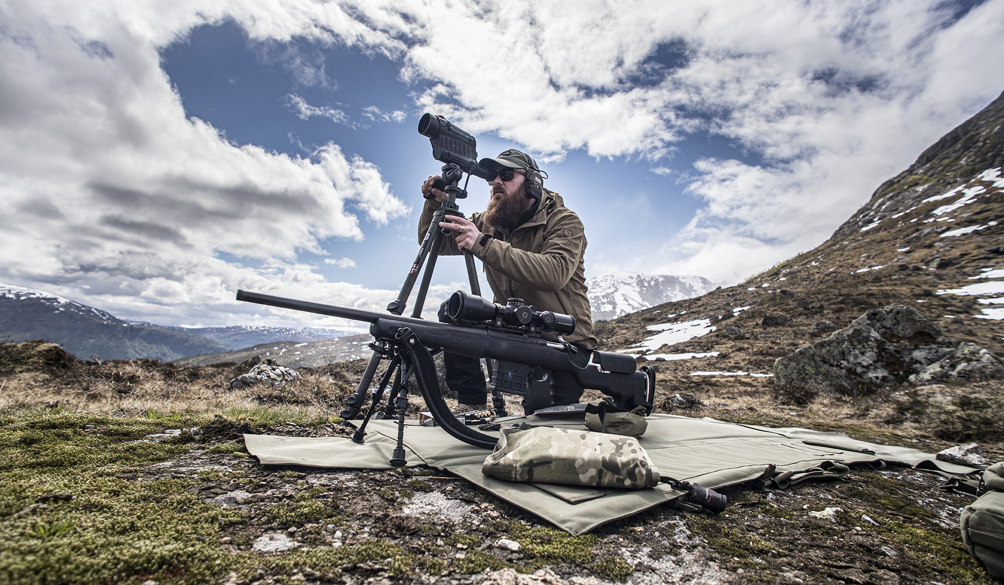 Long distance precision shooting with GRS